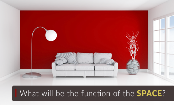 function of the space